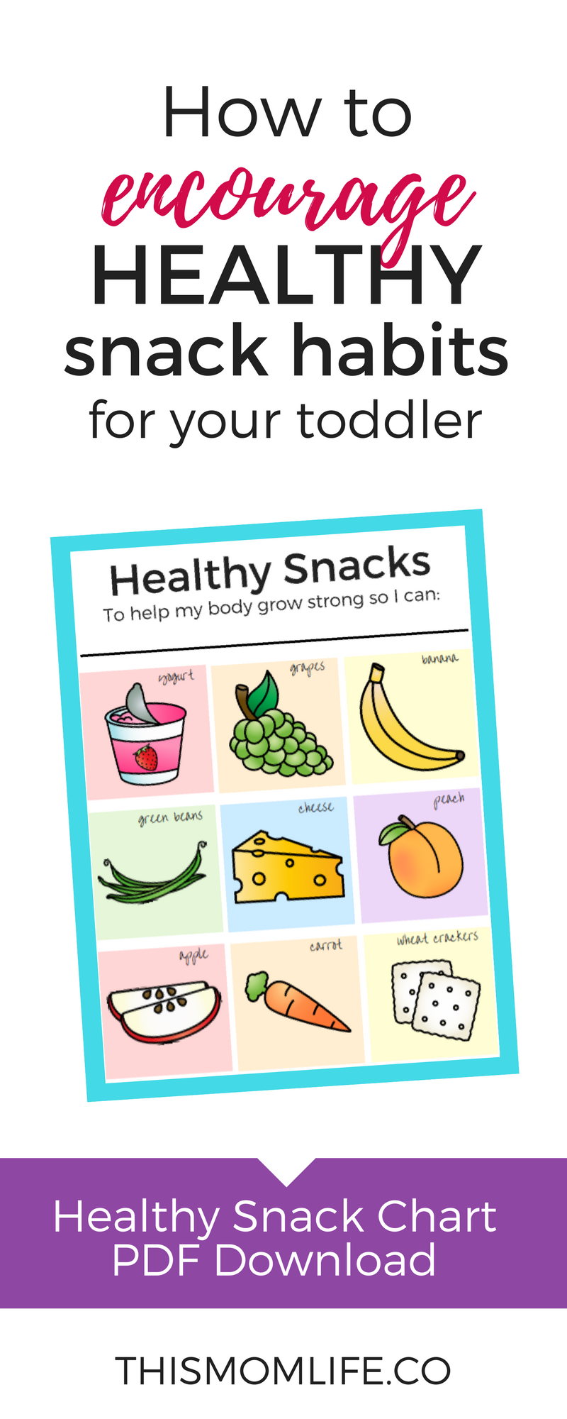 Printable Healthy Diet Chart For Kids