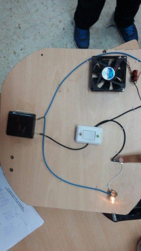 Circuito Ventilador : Circuito con ventilador marcos experimentos circuito y marcos