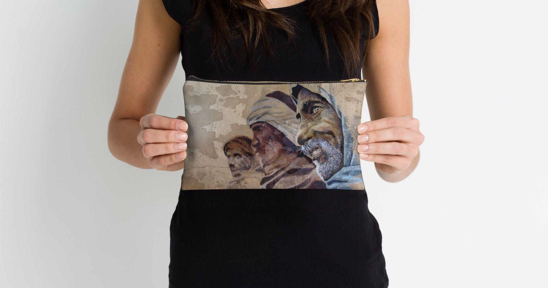 'FREE SPIRITS urban ART' Zipper Pouch by ARTito Art