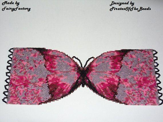 Metamorphosis Cuff/Bracelet   Miyuki Delica by PiratesOfTheBeads, $6.00