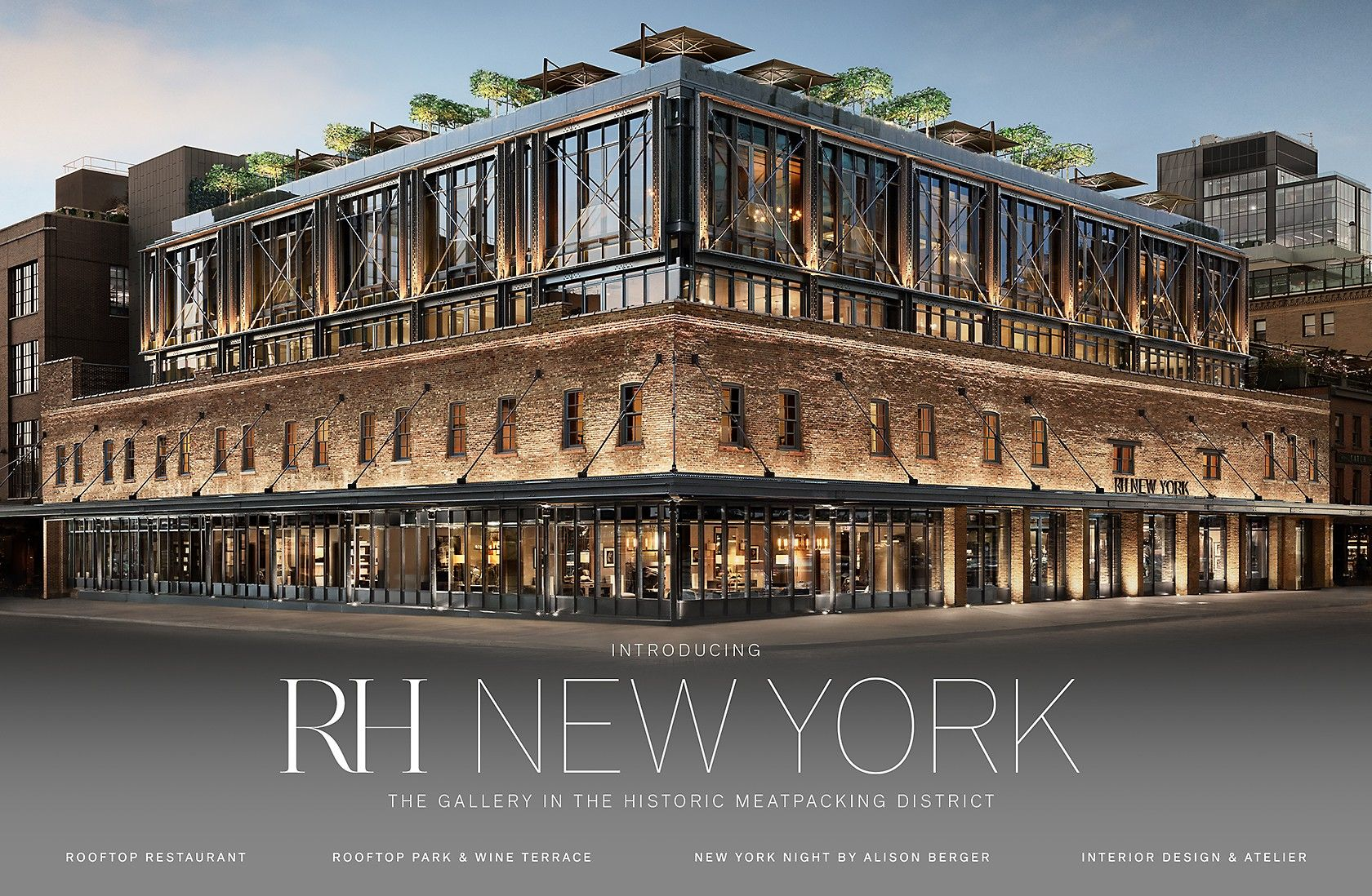RH New York. The Gallery in the Historic Meatpacking ...