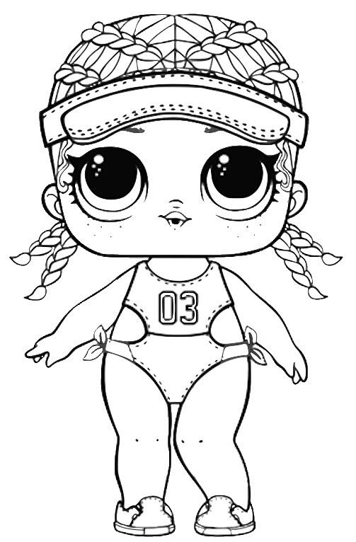 Lol Surprise Doll Para Colorear Imprime Gratis Toda La Serie