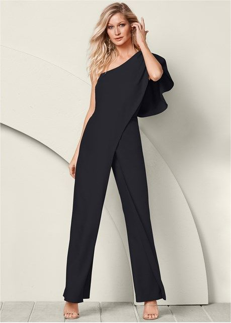 a023989f26b2 One shoulder jumpsuit in 2019