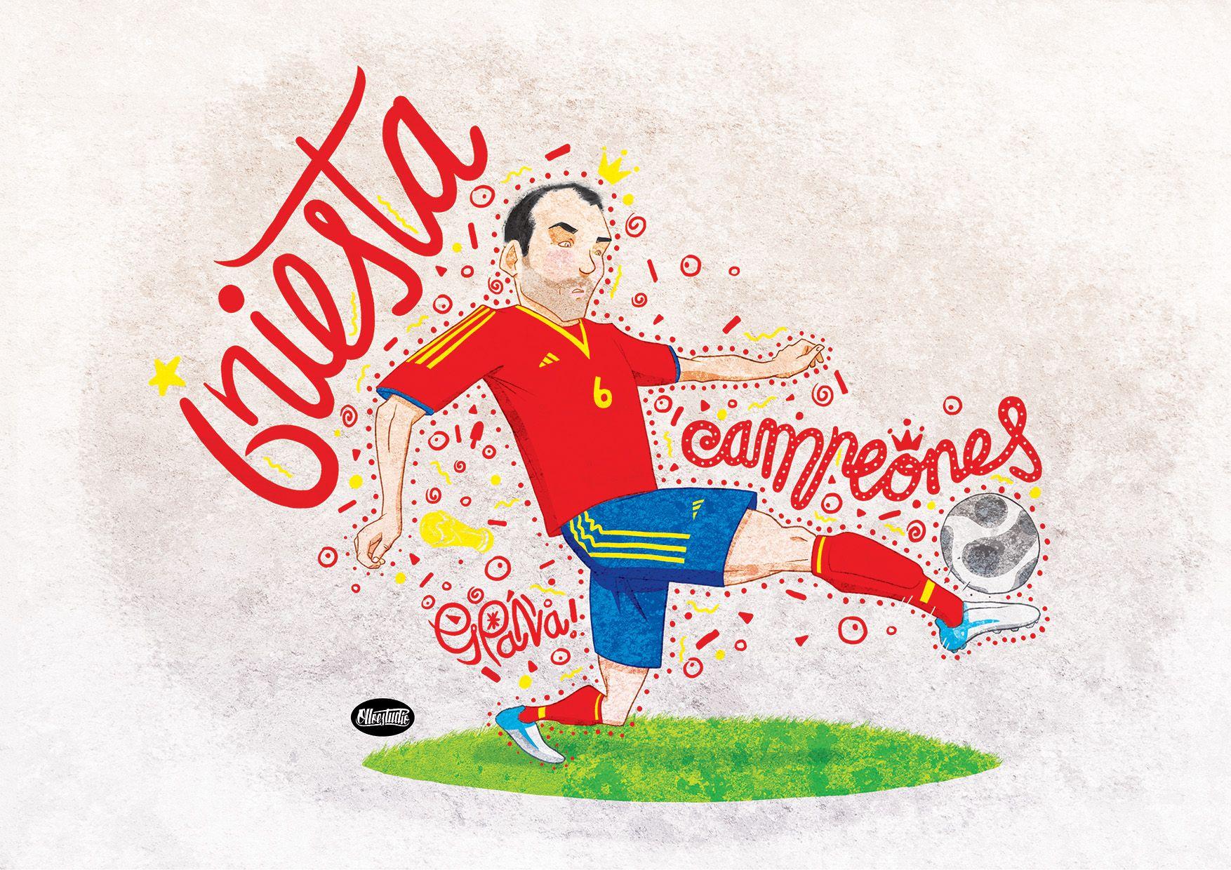 #Iniesta #fútbol #soccer #football #españa