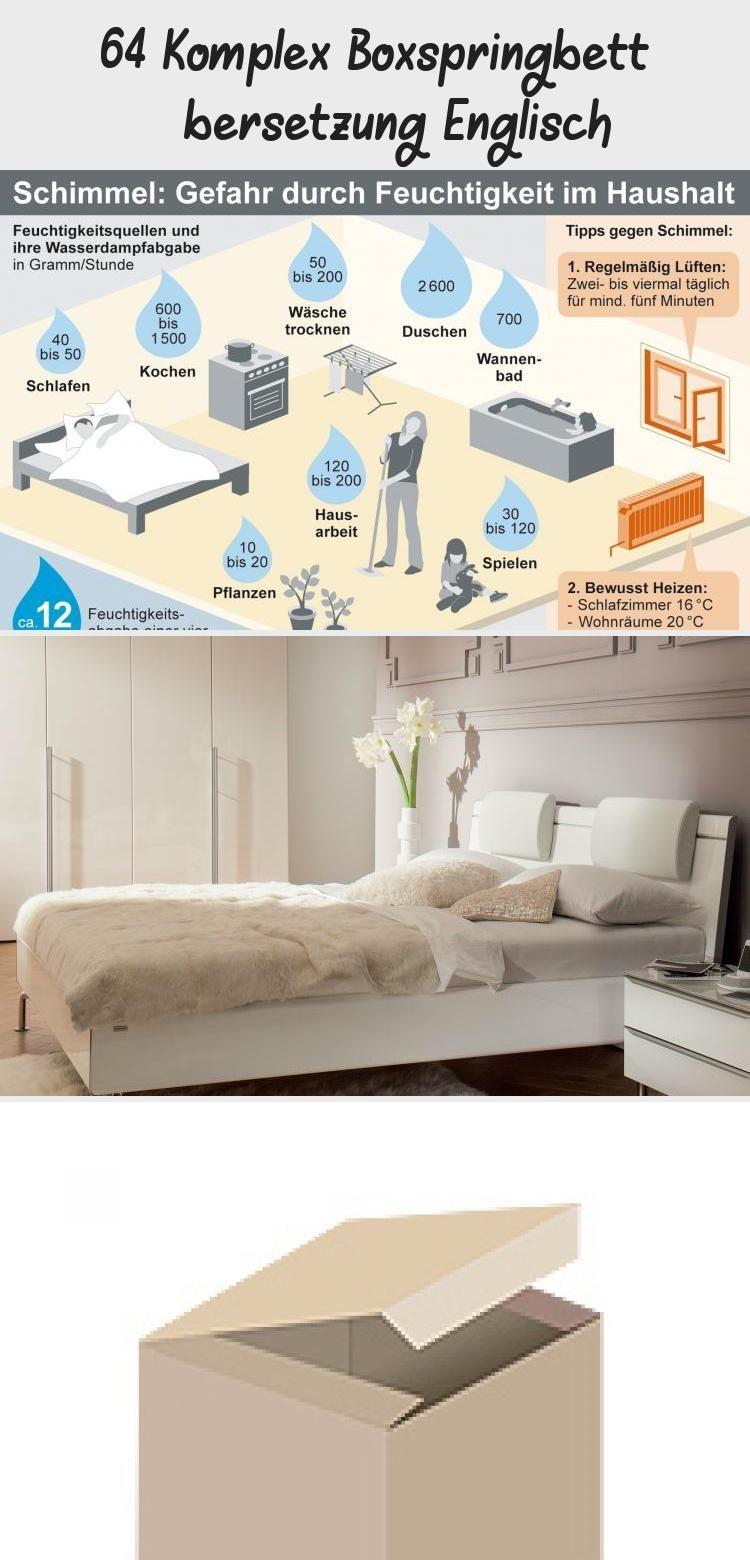 64 Komplex Boxspringbett Ubersetzung Englisch Babyzimmerlandhaus In 2020 Carseat Canopy Box Spring Bed Rooms Country