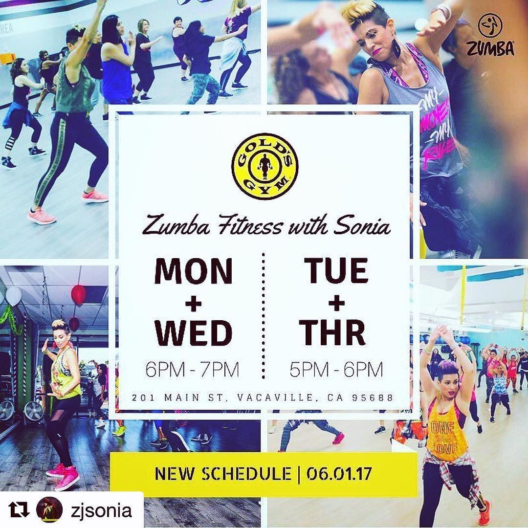 Repost Zjsonia Let S Get This Week Started Off Right Catch Me Mon Thur Evenings At Gold S Gym Vacaville Grab Zumba Workout Zumba Party Boys And Girls Club