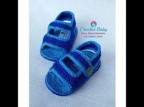 Papete KAUAN de crochê - Tamanho 09 cm - Crochet Baby Yara Nascimento - YouTube