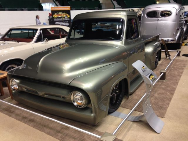 1954 Ford F100 Custom Hot Rod Pickup Truck