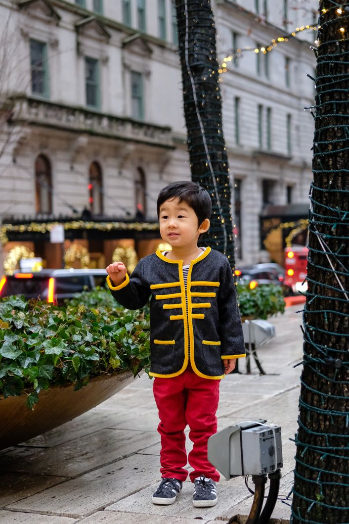Dashing Holiday Outfits for Boys - Nutcracker Cool Party Looks