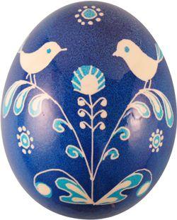Pysanka with bird motif from Ukrainian Gift Shop | Egg painting ...