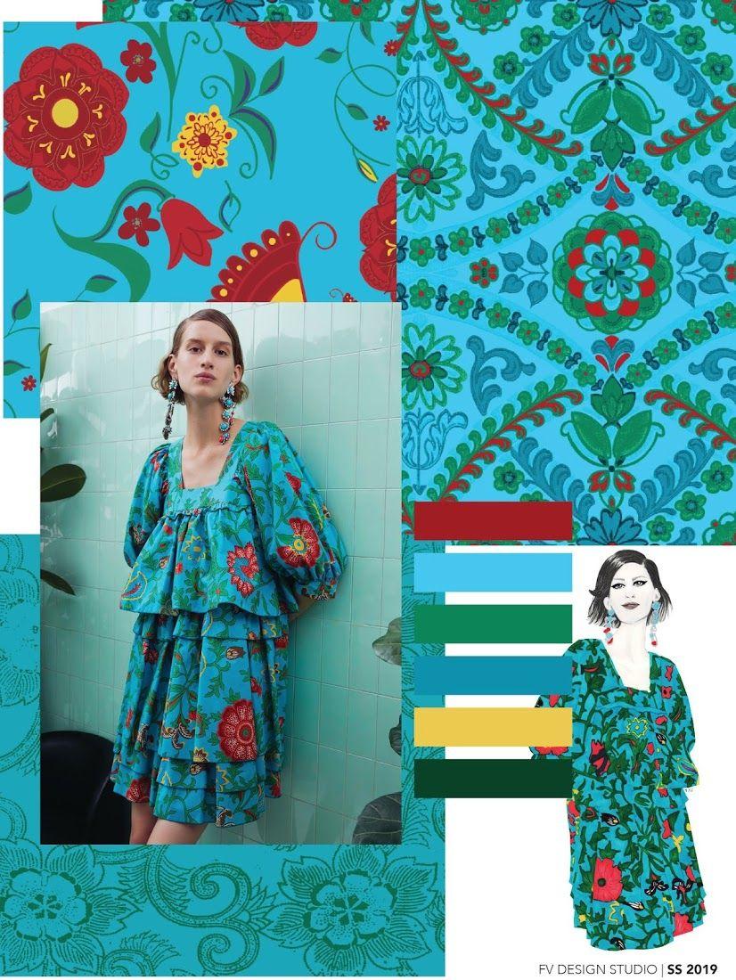 fashion vignette fv trend color signora azul ss 2019 color pinterest tendencias. Black Bedroom Furniture Sets. Home Design Ideas