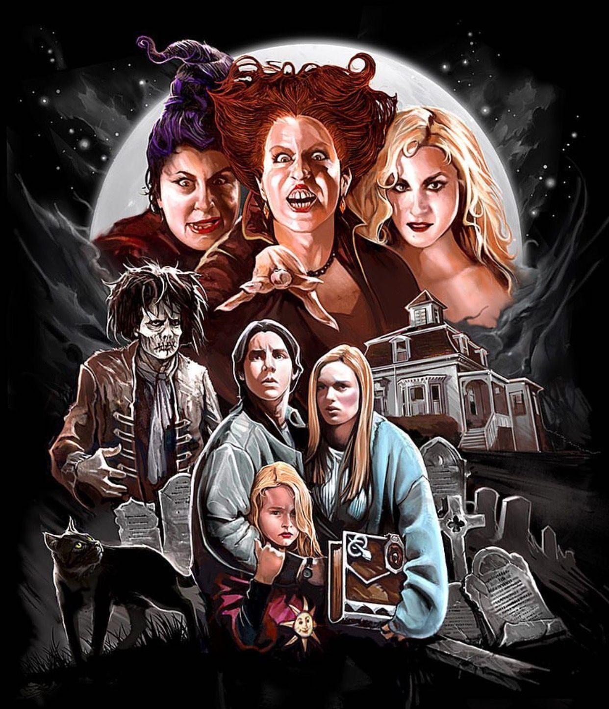 Hocus Pocus Best halloween movies, Halloween wallpaper