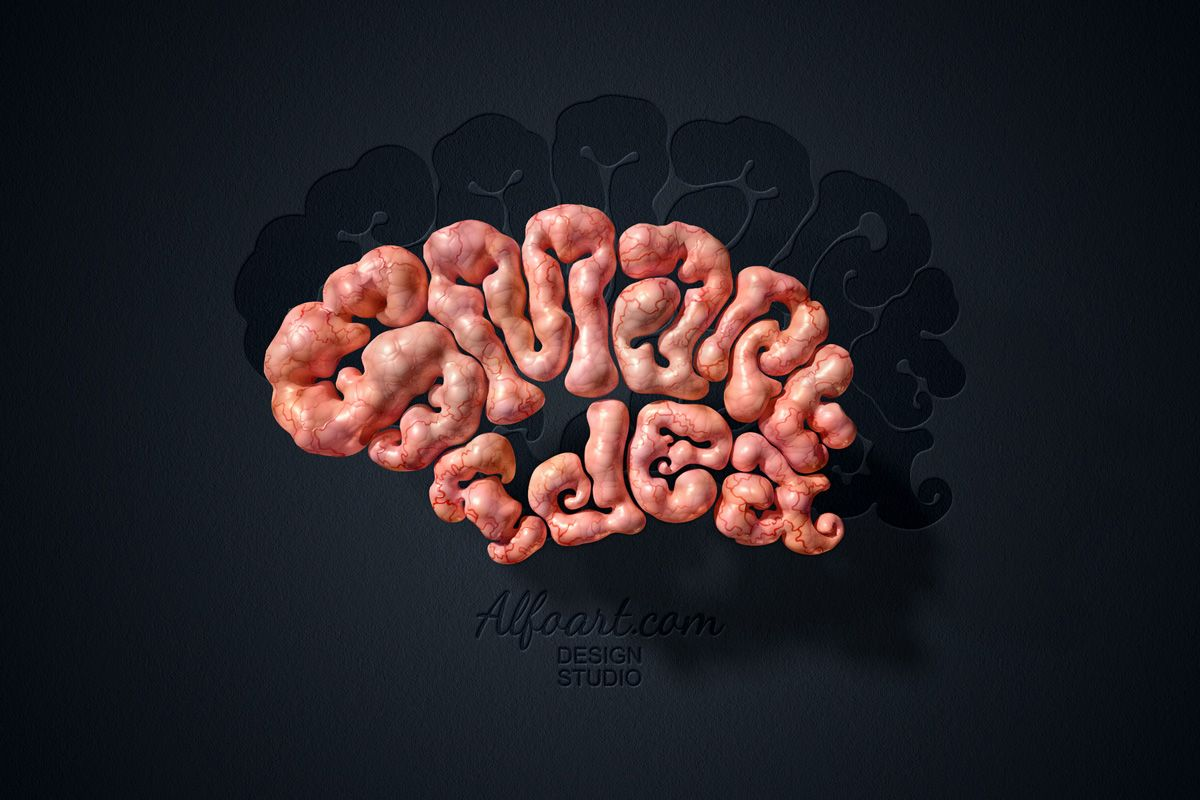 Learn how to create realistic brain text effect this adobe this adobe photoshop tutorial will show how to apply gray cells blood vessel texture and light reflections to the shapes baditri Choice Image