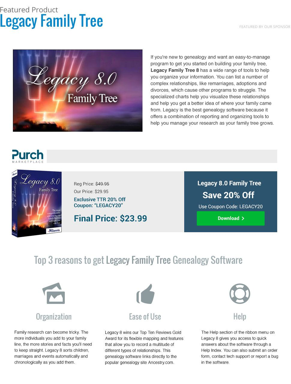 Best Genealogy Software of 2019 | Blogishness | Family tree software