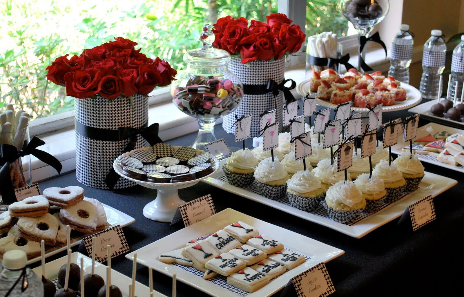 Adult party table decoration ideas - Image Detail For Birthday Party Dessert Candy Table Buffet Ideas