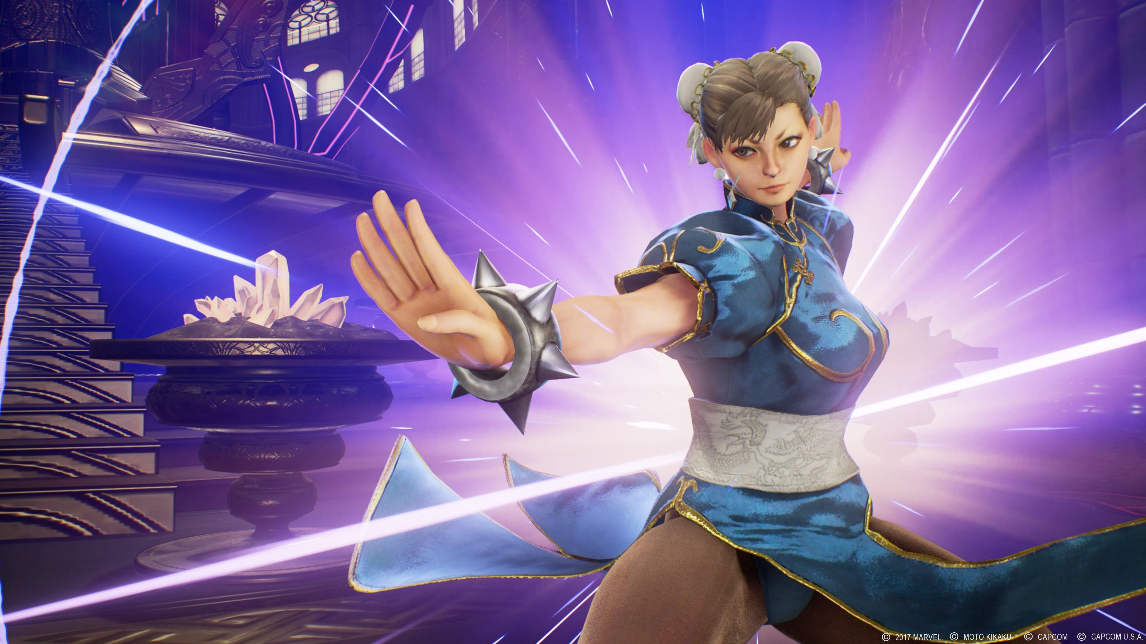 Nice Chun Li 4k Marvel Vs Capcom Infinite Wallpaper Marvel Vs