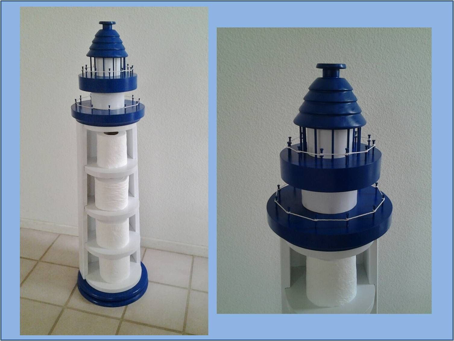 Lighthouse Toilet Paper Holder Unique Roll Holders