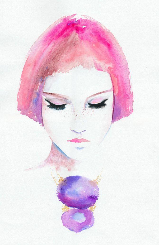 Roze | Cate Parr #illustration