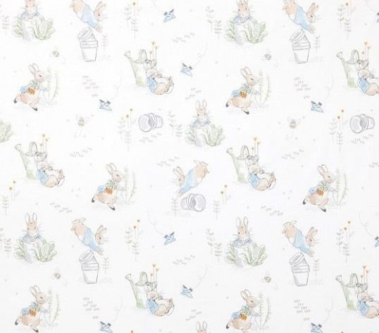 Peter Rabbit Organic Crib Fitted Sheet Pottery Barn Kids