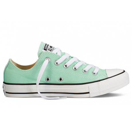 bolso deporte converse all star blanco y verde antiguo