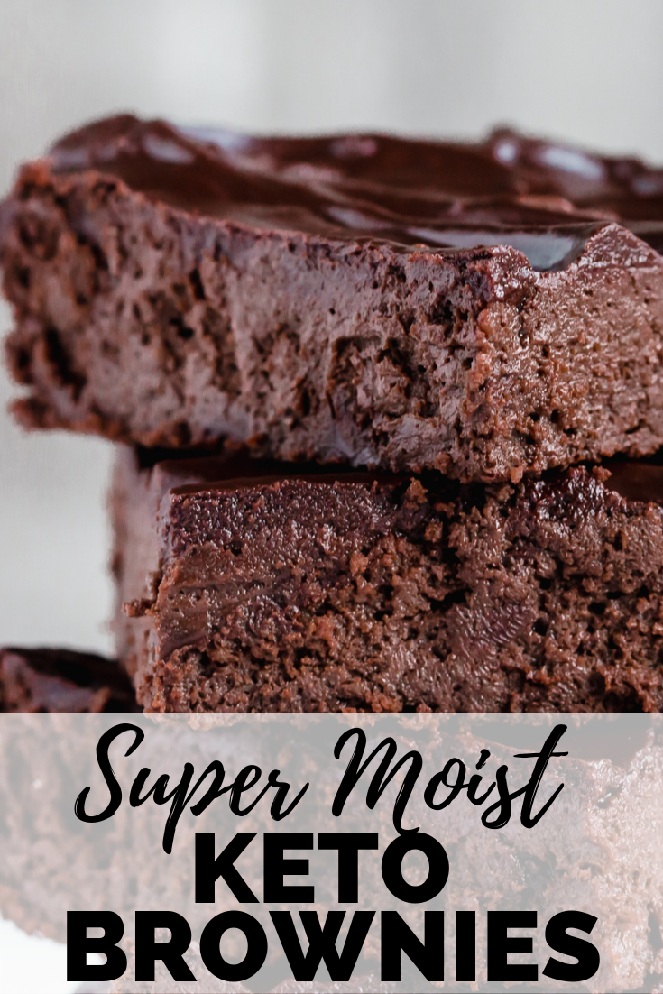 Super Moist Keto Brownies Recipe