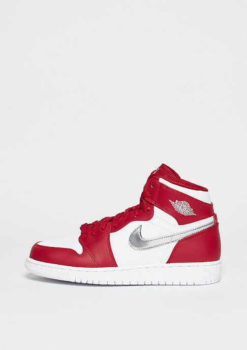 new products 0b8df c5c70 JORDAN Air Jordan 1 Retro High gym red metallic silver white   SNIPES  Onlineshop