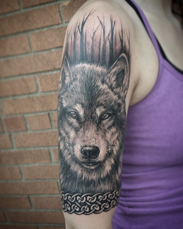 1001 Modeles De Tatouage Loup Pour Femmes Et Hommes Tattoo