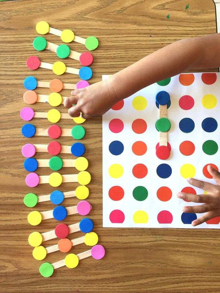 Color Dots Links Logic Game Preschool Learning Activities Preschool Math Games Preschool Games