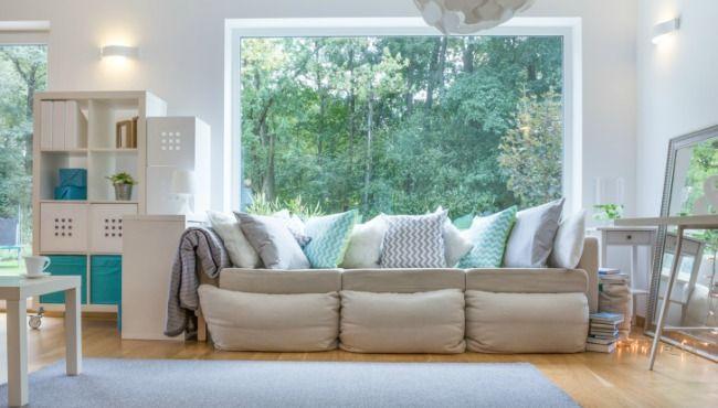 6 Items to always have in your home for surprise visits - wohnzimmer gelb streichen