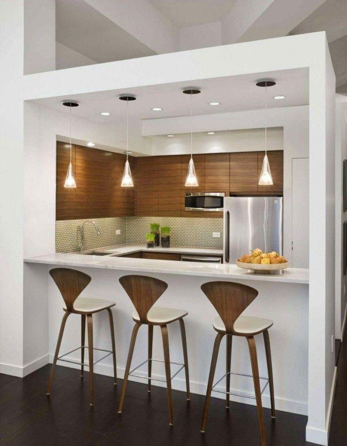U küchen mit bar  56 inspirierende Ideen für Ihre perfekte Küchenbar ...