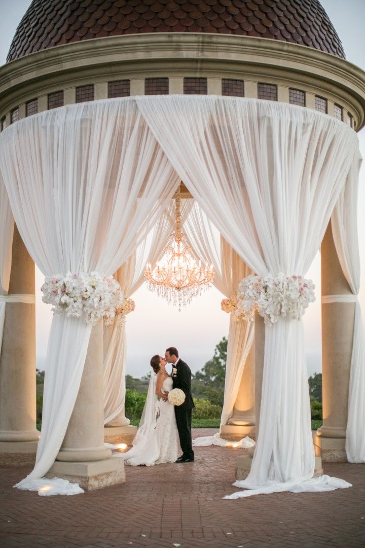 Romantic Blush Toned California Wedding Wedding Ceremony