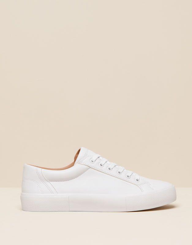best sneakers b4569 ed624  TÉNIS BAMBA STUDIO Zapatos Blancos Mujer, Zapatos Adidas Mujer, Zapatos  Casuales, Zapatos