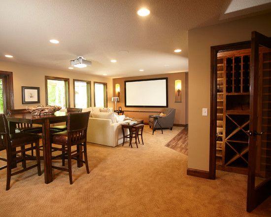 Traditional Basement Backsplash Design Pictures Remodel Decor And Impressive Home Remodeling Mn Decor Design
