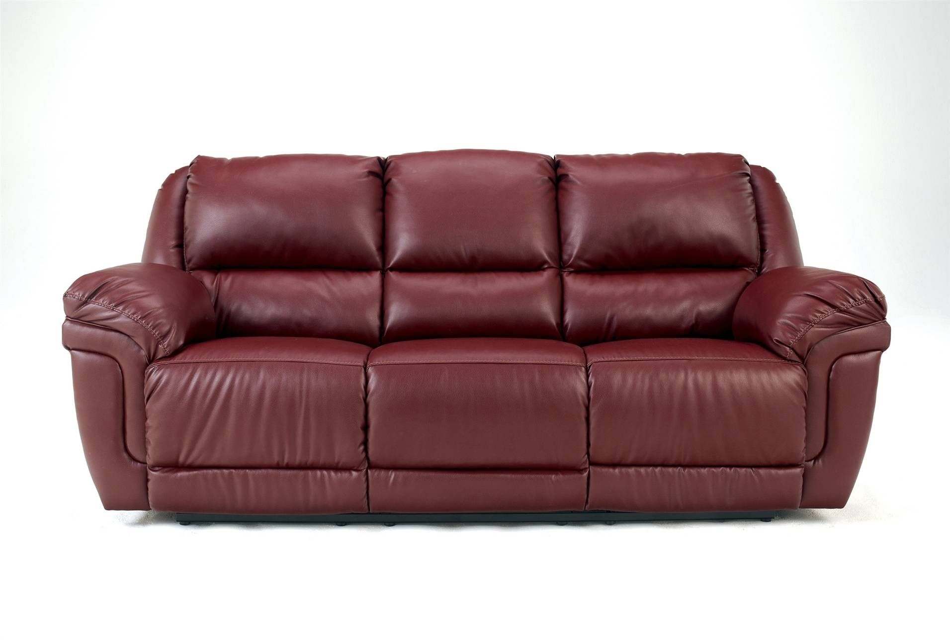 Astonishing Magic Red Reclining Sofa W Ddt Bello Decor Sofa Caraccident5 Cool Chair Designs And Ideas Caraccident5Info