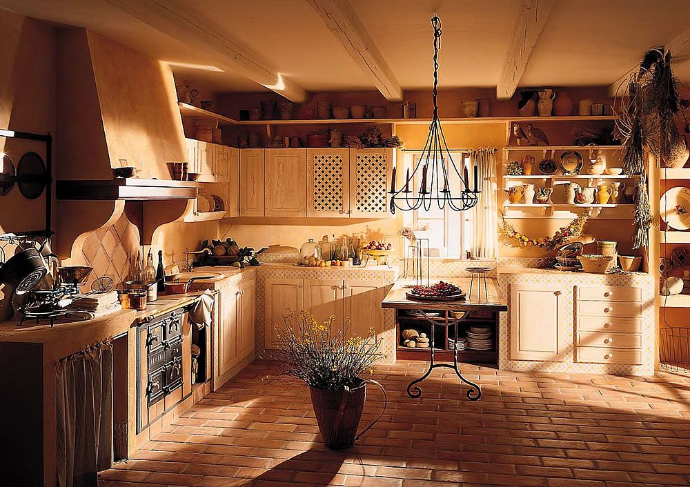 Aurora cucine design cucine country chic cucine in muratura componibili cucine moderne eleganti - Cucine country in muratura ...