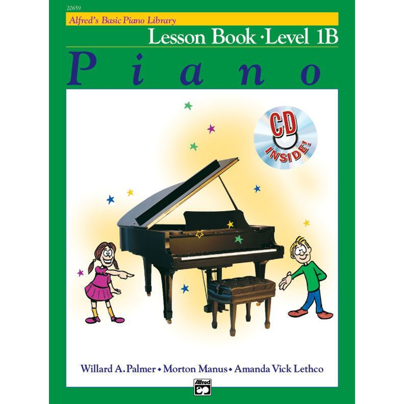 Alfred S Basic Piano Library Lesson Book Level 1b Library