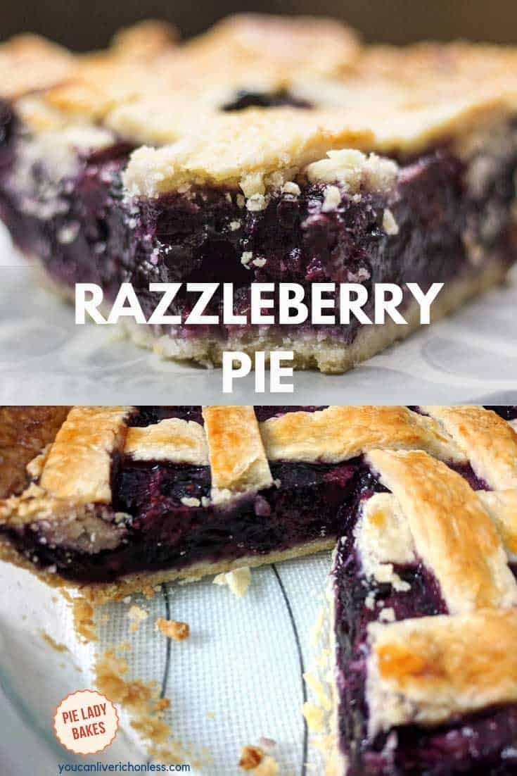 Razzleberry Pie Would this Razzleberry Pie be perfect for your holiday dinner? We just love the rich berry colours, and the taste is out of this world. Triple berry pie has a delicious sweetness all it's own. And of course the buttery flaky pie crust completes the package!