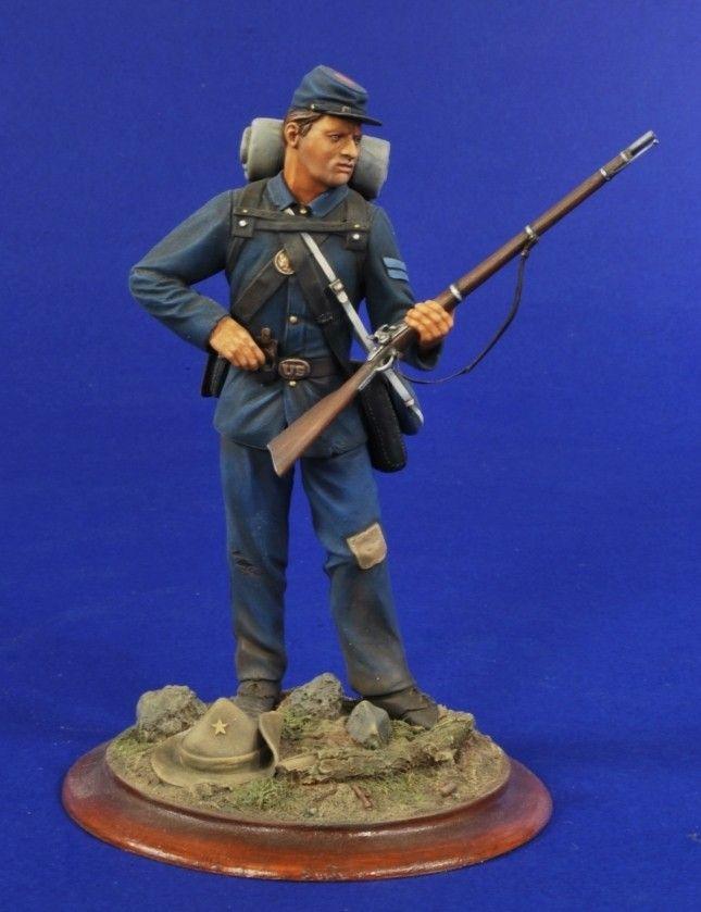 1//32 54MM 20th Maine volunteers American civil war resin models