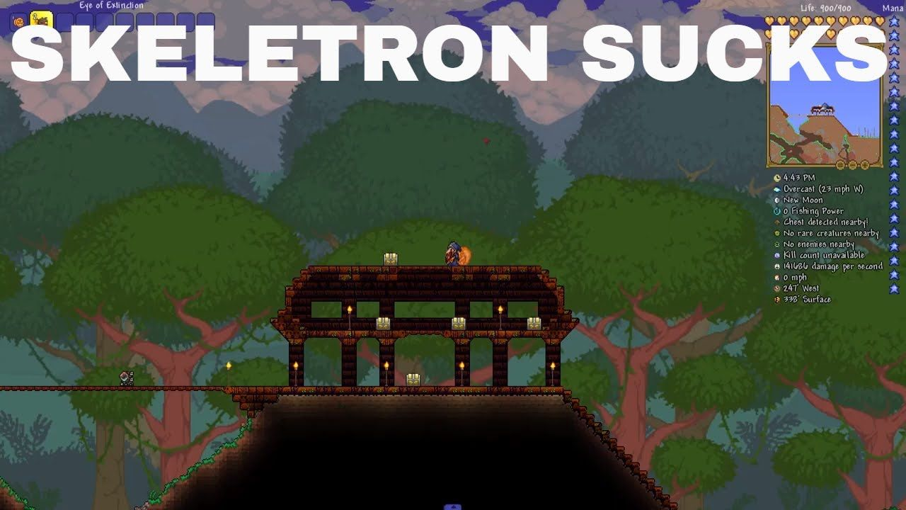 The Problem With Skeletron Terraria 2019 Dark Souls Youtube You Can Do A solar eclipse is happening!. skeletron terraria 2019 dark souls