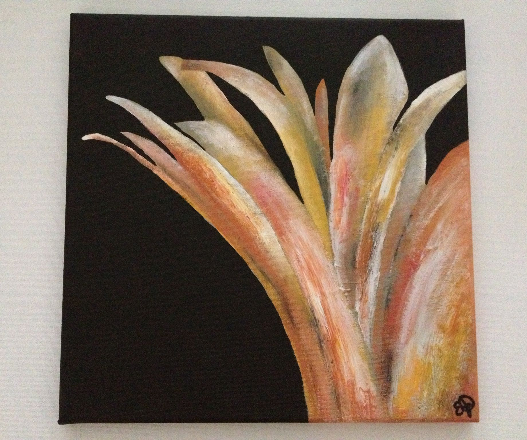 Soothing Petals, by Emily Doerr, my painting for sale on Etsy. - EmilysArtandDesign