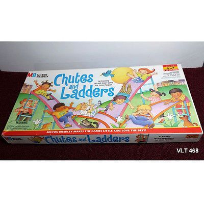 Chutes And Ladders Milton Bradley English And Spanish Instructions
