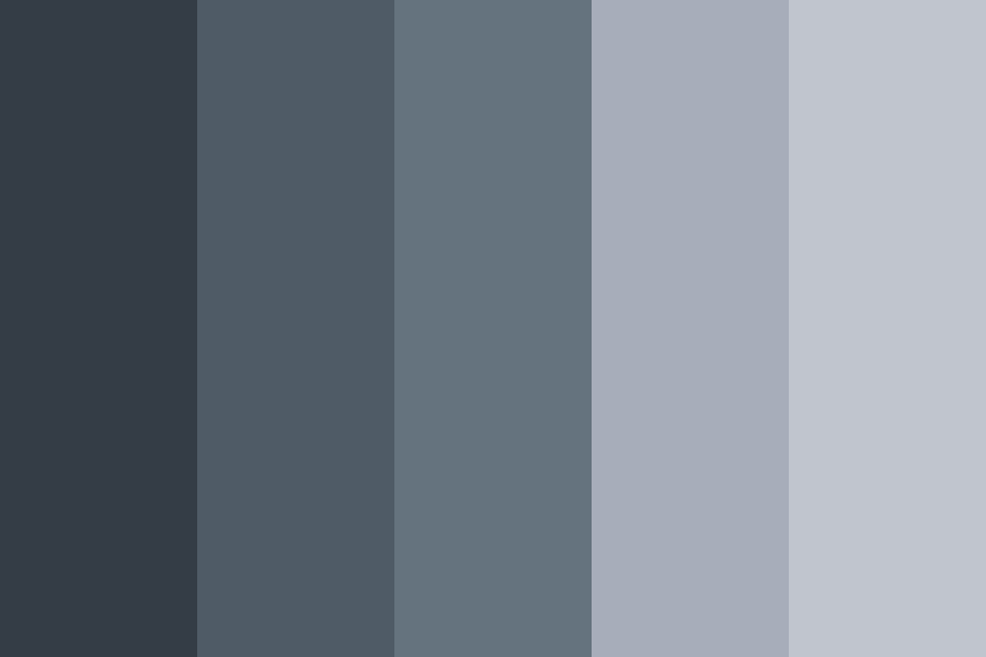Space Gray Like Color Palette Grey Color Scheme Grey Color Palette Grey Painted Walls