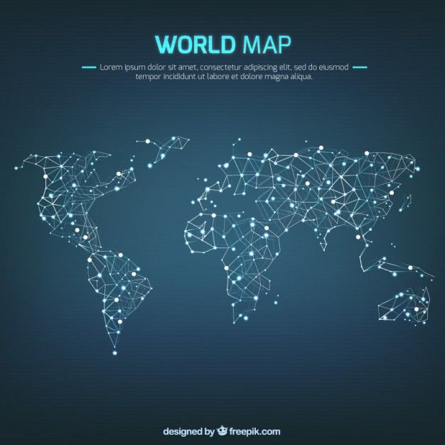 World map pins lines imm pinterest infographic graphics world map pins lines sciox Images