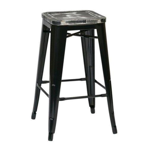 Surprising Office Star Osp Designs Bristow 26 Count Er Stool In Black Inzonedesignstudio Interior Chair Design Inzonedesignstudiocom