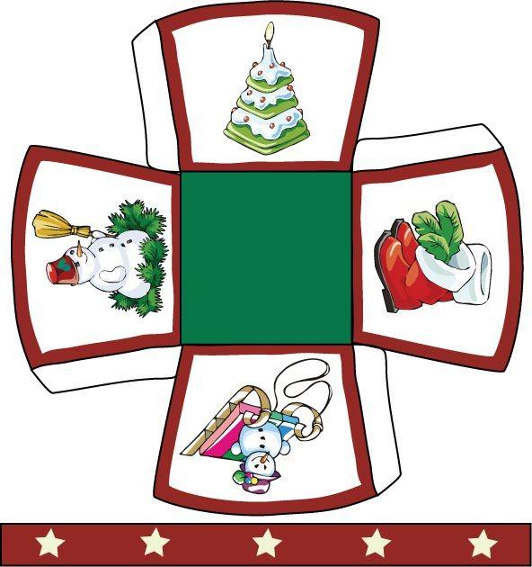 Caixinhas de Natal para imprimir - Pra Gente Miúda