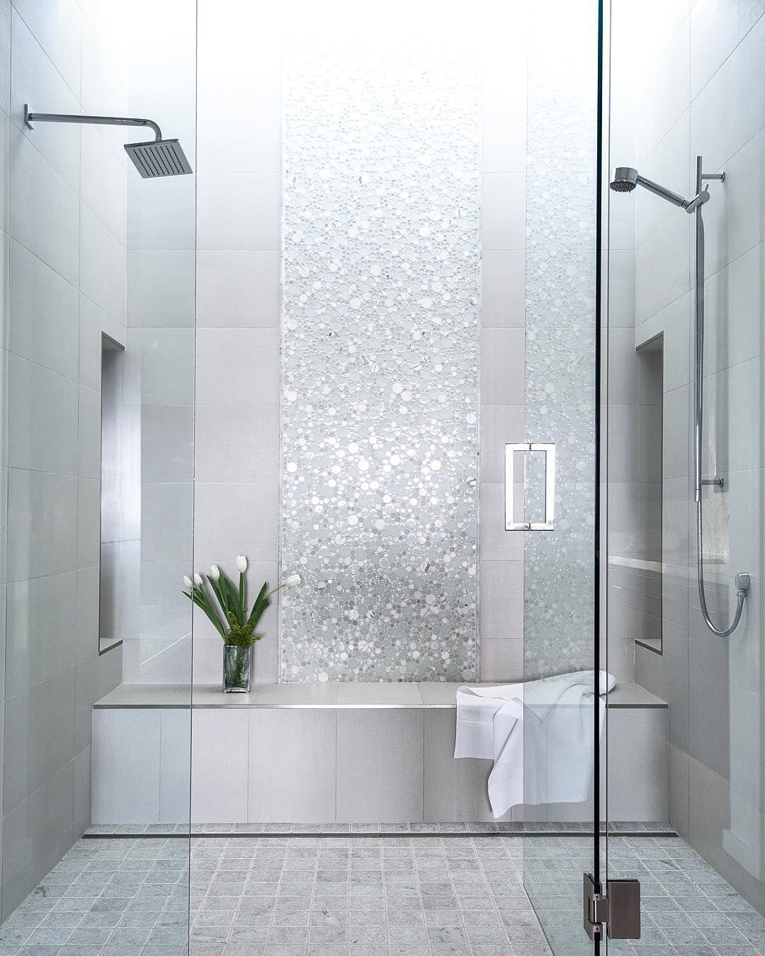 Visual eye candy how to tile a herringbone floor part i - Procelanosa Cubica Blanco Or Pamesa Capua Wall Tile In Bathroom Looks Like Shny