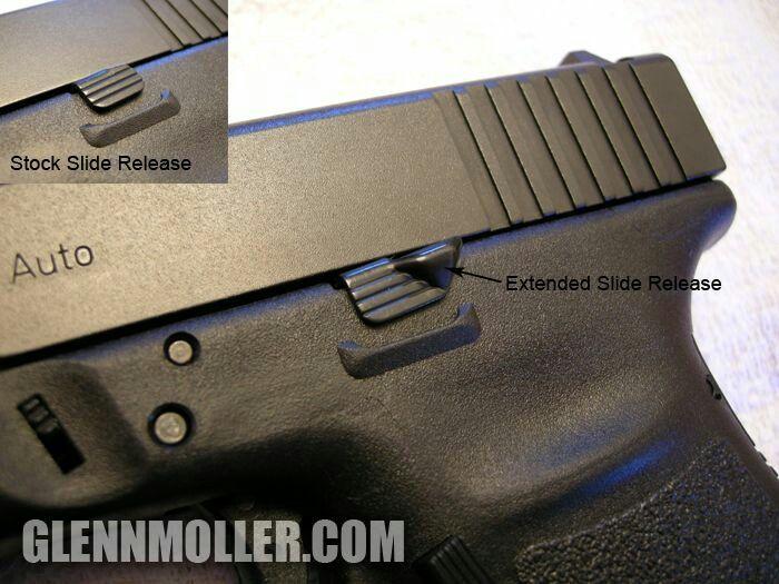 Extended Slide Release | Glock Accessories | Glock