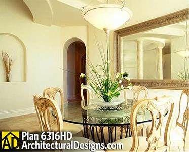 Plan 6316HD: A See-Through Fireplace