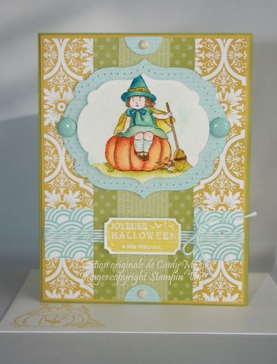 Stampin' Up!'s Greeting Card Kids by Cindy Major