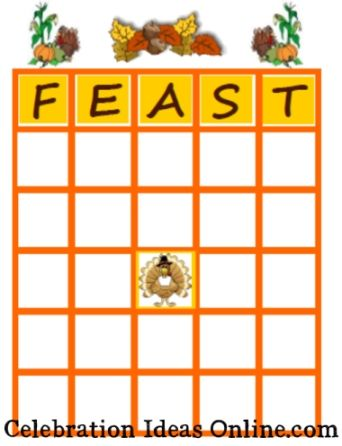 graphic about Free Printable Thanksgiving Bingo identify Printable Thanksgiving Bingo Video game